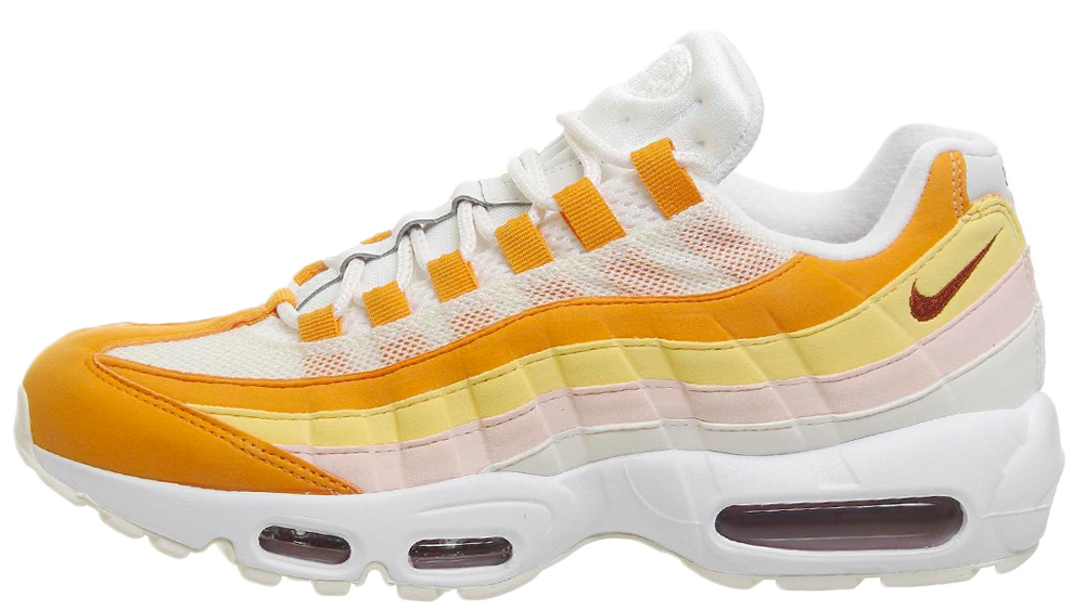 info for 92f36 1d46a Nike Air Max 95 White Orange | 307960-114