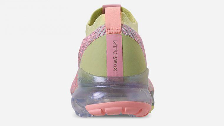 Nike Air VaporMax 3 Volt Pink Womens AJ6910-700 back thumbnail image