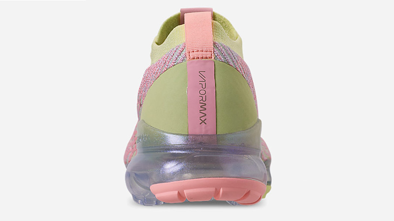 Nike Air VaporMax 3 Volt Pink Womens AJ6910-700 back