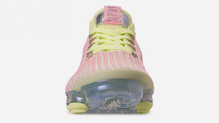 Nike Air VaporMax 3 Volt Pink Womens AJ6910-700 middle thumbnail image