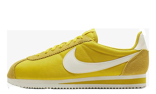 Nike Classic Cortez Nylon Yellow 749864-702