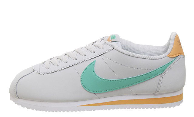 Nike Classic Cortez White Jade Orange