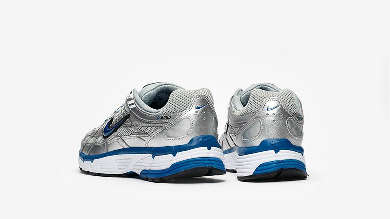 Nike P-6000 Silver Blue Womens BV1021-001 back