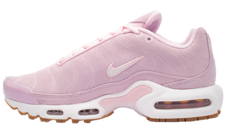 22847ebe93 If you're loving this twist on the Nike TN Air Max Plus PRM Pink as much as  us, hit the stockist linked below to cop! UK true DD/MM/YYYY