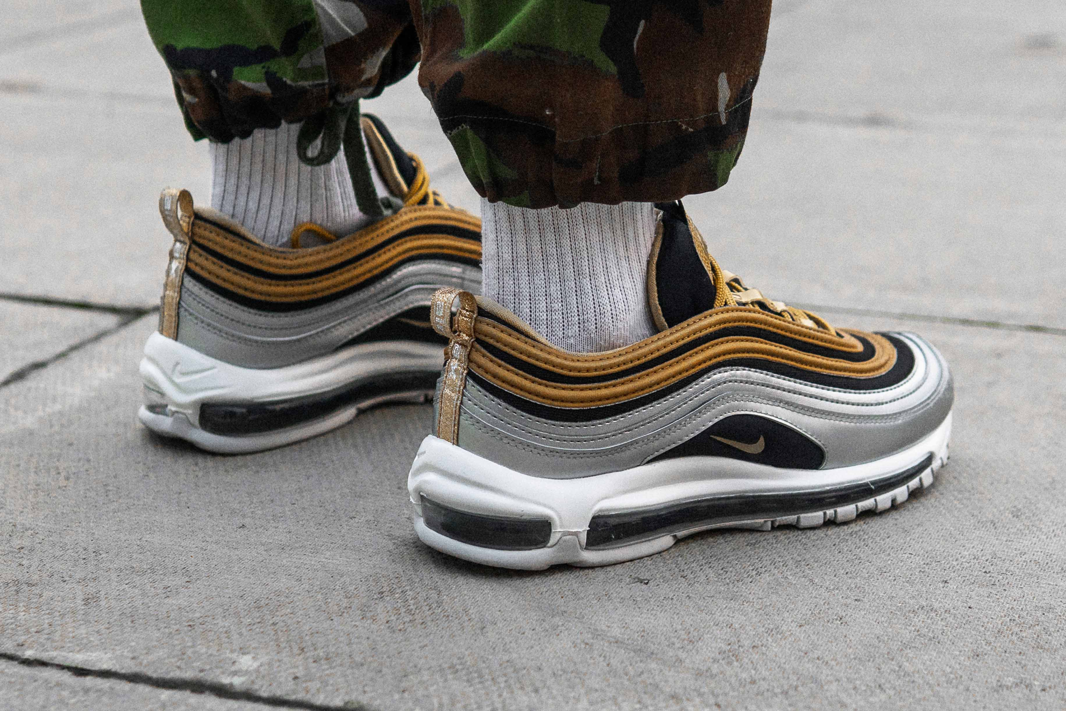 c426c806d2 Save An Incredible £65 On The Nike Air Max 97 Metallic Pack In The ...
