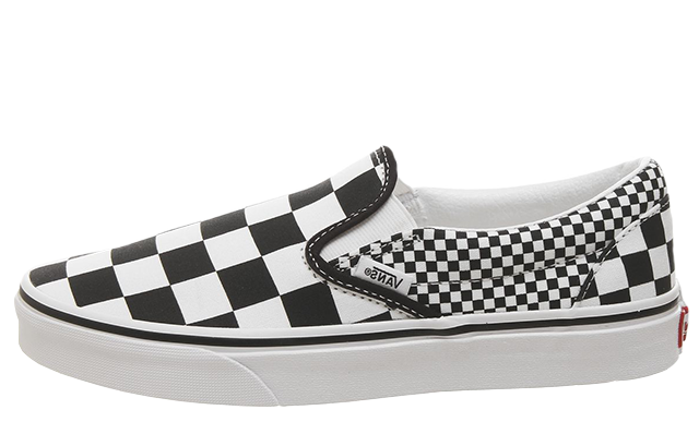 Vans Classic Slip On Mix Checker Black White