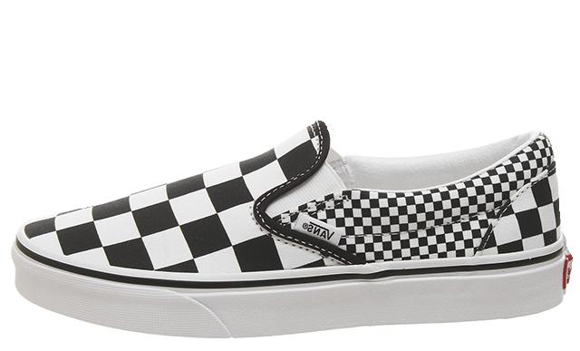 Vans Classic Slip On Mix Checker Black White