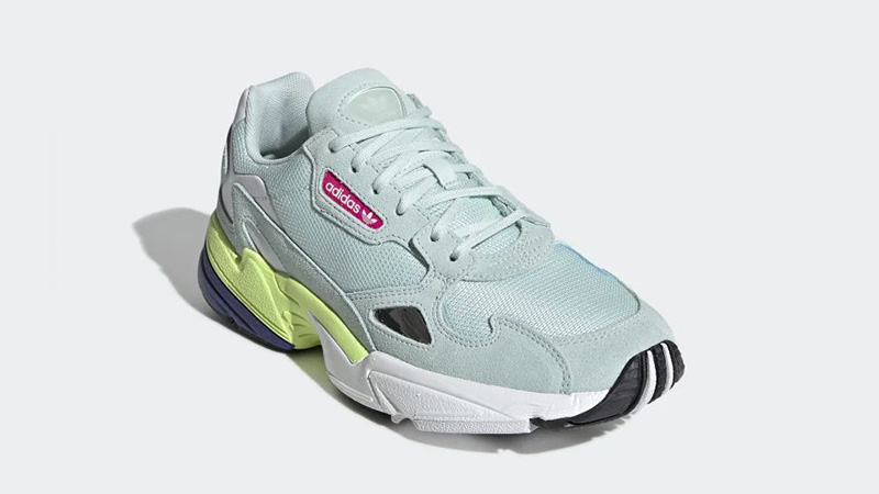adidas Falcon Black Ice Mint CG6218 front