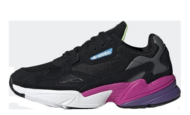 adidas Falcon Black Pink | CG6219