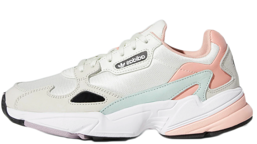 Ingenieros novato Extra  adidas Falcon White Trace Pink   Where To Buy   EE4149   The Sole Womens