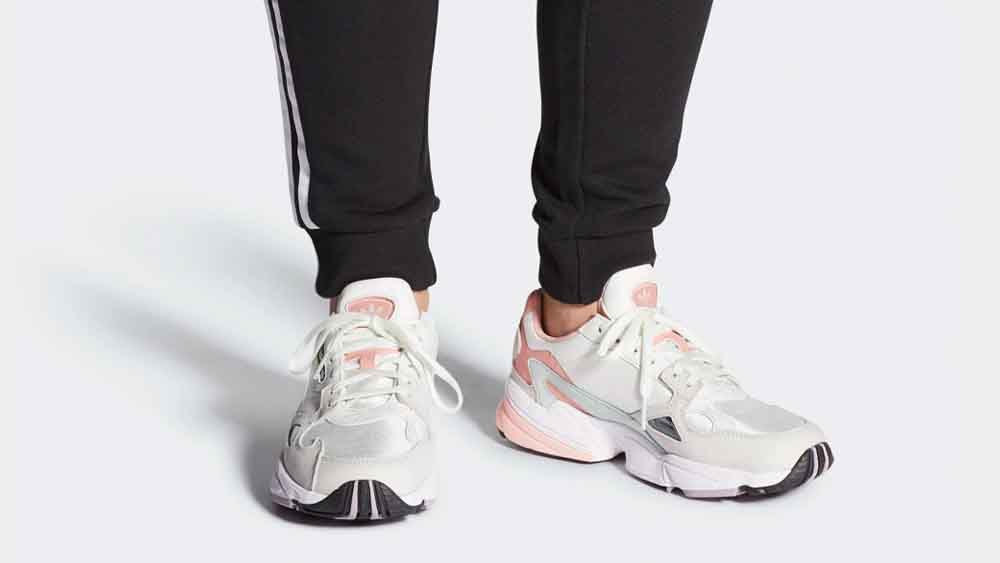 adidas Falcon White Trace Pink | EE4149