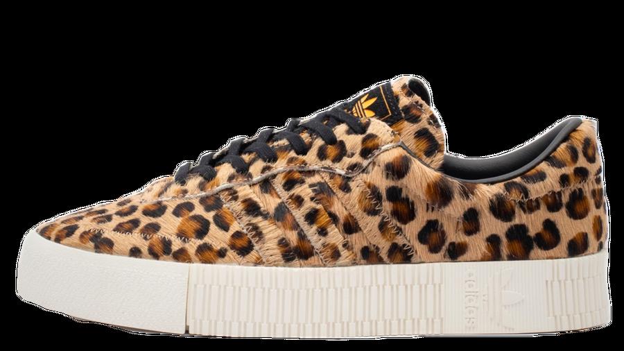 adidas Sambarose Leopard Print   Where To Buy   CG6461   The ...