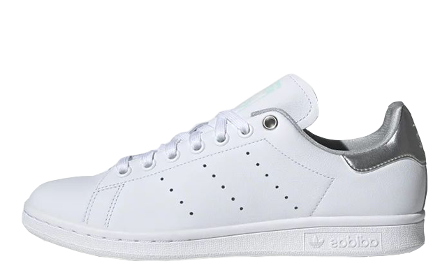 adidas Stan Smith White Silver Womens G27907