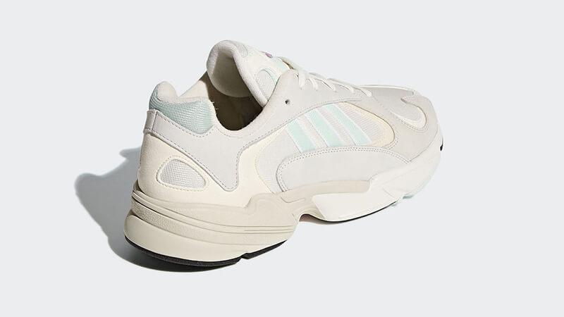 adidas Yung 1 White Mint CG7118 back
