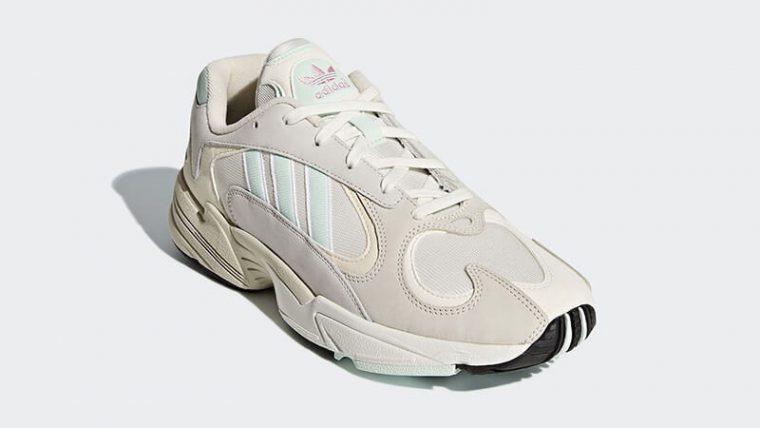 adidas Yung 1 White Mint CG7118 front thumbnail image