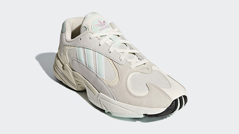 adidas Yung 1 White Mint CG7118 front