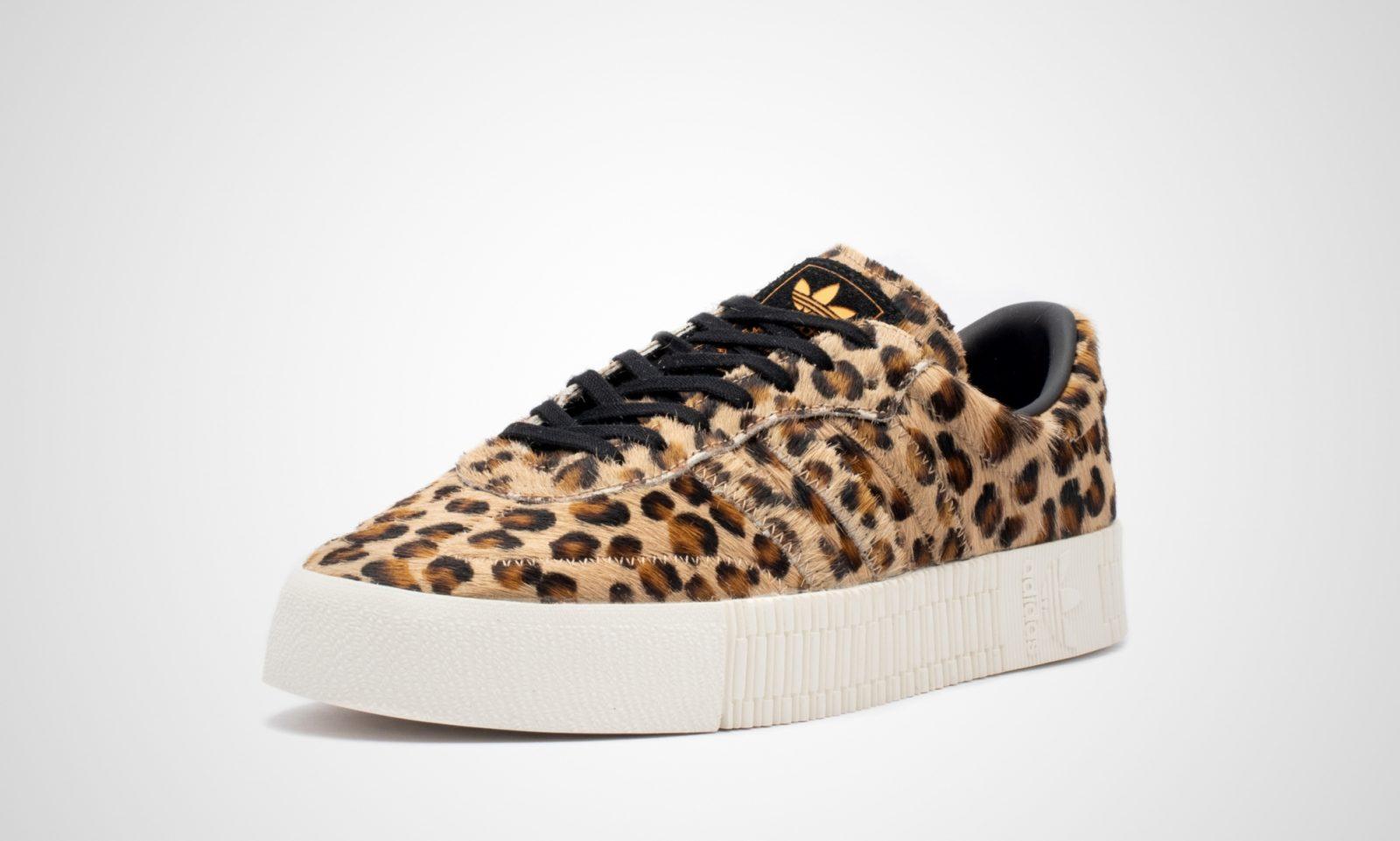 adidas Sambarose Leopard Print   CG6461