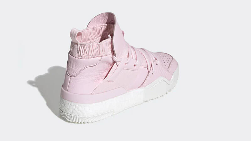 adidas x Alexander Wang Bball Pink White DB2718 01