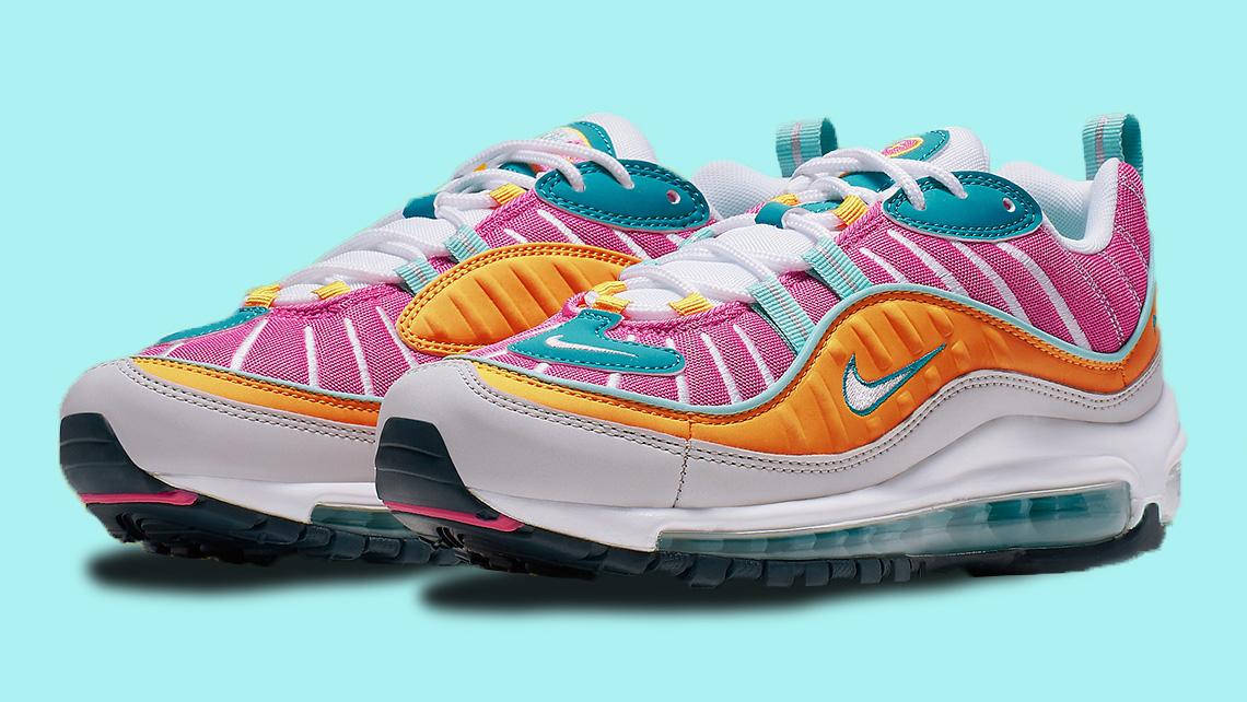 A Closer Look At This Vibrant New Nike Air Max 98 Upcoming