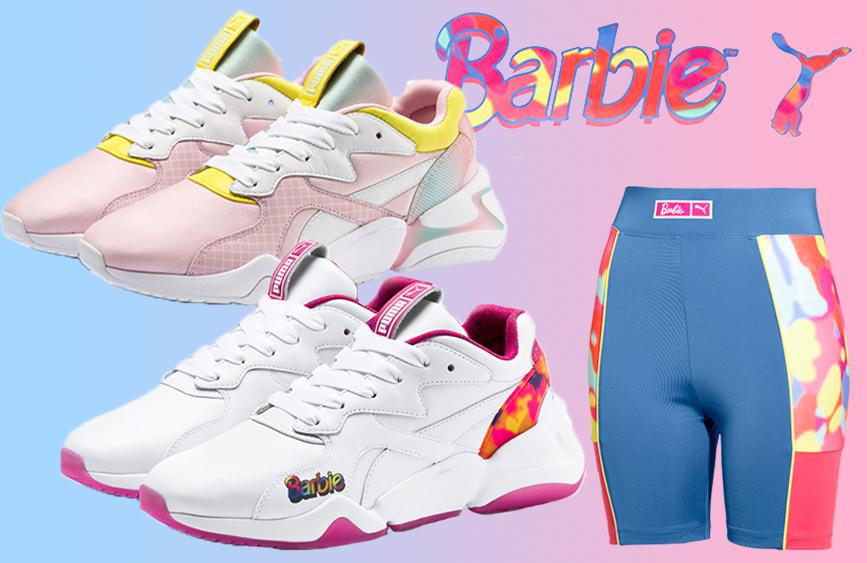 puma x barbie nova 90's