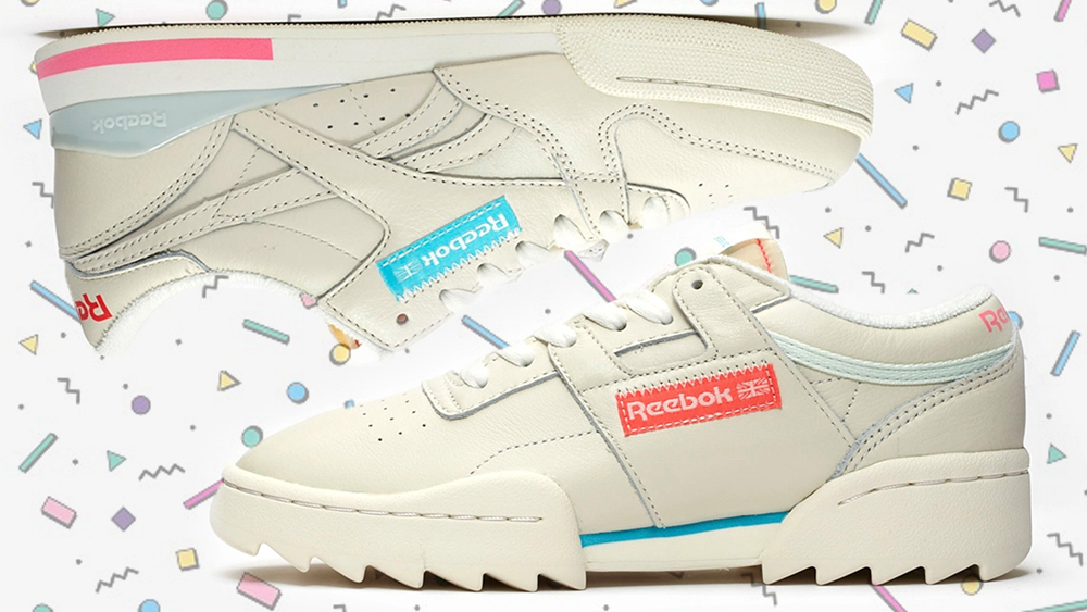 reebok retro sneakers