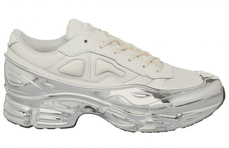 adidas Raf Simons Ozweego Trainers Cream Silver