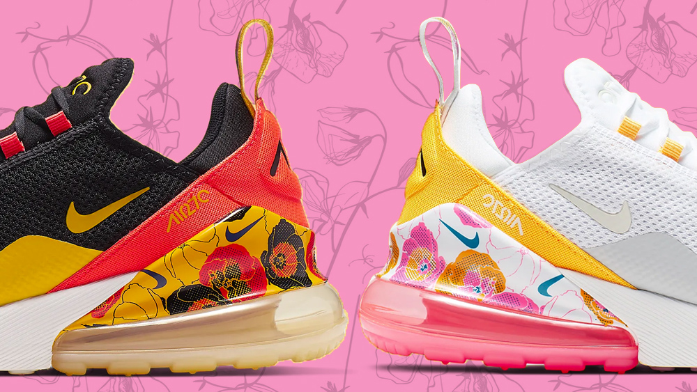 db533d99a2 These Floral Nike Air Max 270's Need To Be In Your Rotation | Style ...