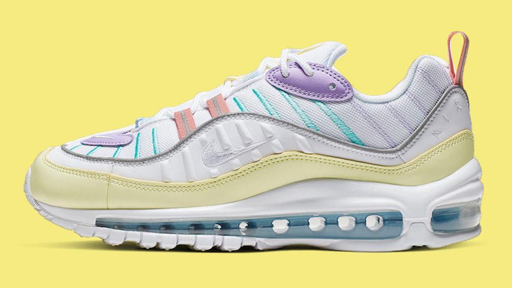 This Nike Air Max 98 Pastel Colourway Is One For The Sunny ...
