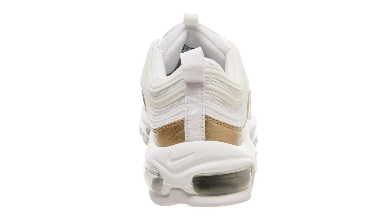 Nike Air Max 97 GS White Blush Gold BV0049 100  BV0049 100