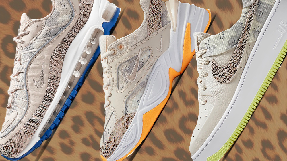 Camouflage Takes Over These 3 Iconic Nike Silhouettes