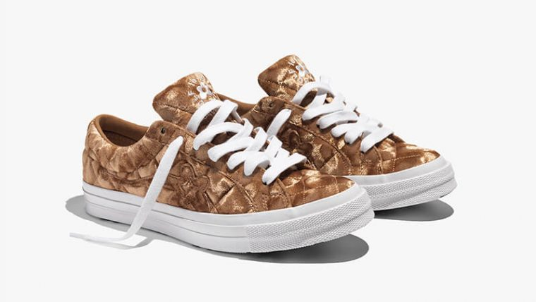 Converse One Star x Golf Le Fleur Brown 165599C 04 thumbnail image