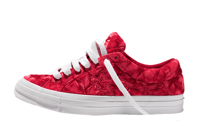 Converse One Star x Golf Le Fleur Red 165598C