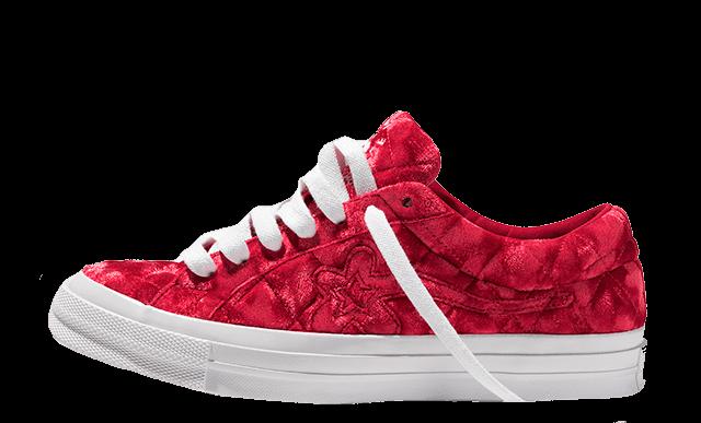 Converse One Star x Golf Le Fleur Red 165598C