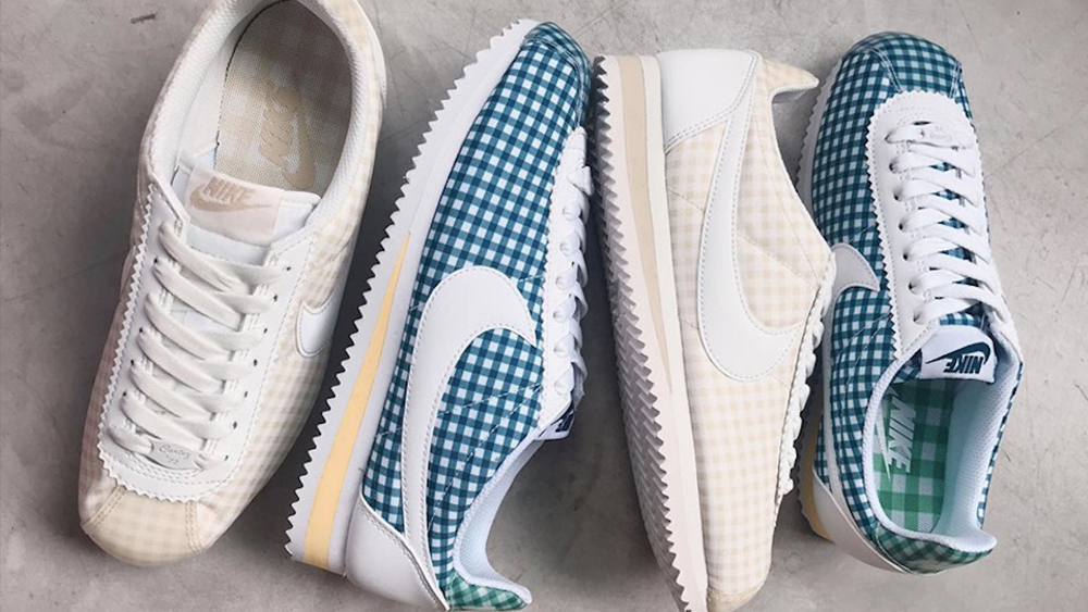 Cortez Gingham Nike The Sole Womens