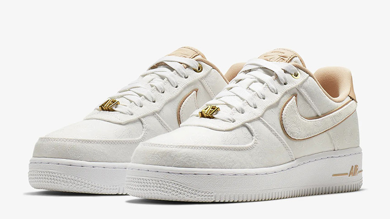 Nike Air Force 1 07 Lux White Gold | 898889 102