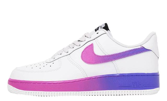 the latest 02097 61517 Nike Air Force 1 Low Gradient White. Release  TBC