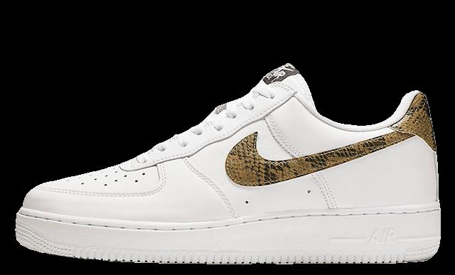 grand choix de 796a8 18feb Nike Air Force 1 Low PRM Ivory Snake | AO1635-100