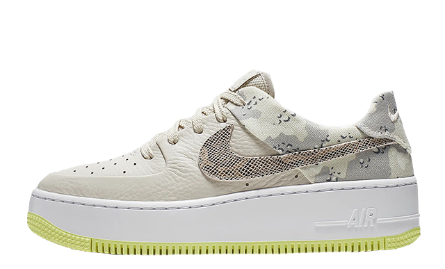 huge discount 3a94e c85e7 Nike Air Force 1 Sage Low Premium Camo Orewood | CI2673-101