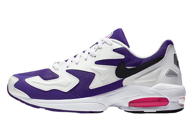 Nike Air Max 2 Light OG White Purple Pink | AO1741 103