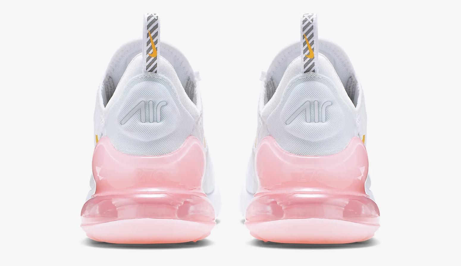 nowy przyjeżdża online tutaj 50% ceny Nike Air Max 270 White Pink | CI9088-100