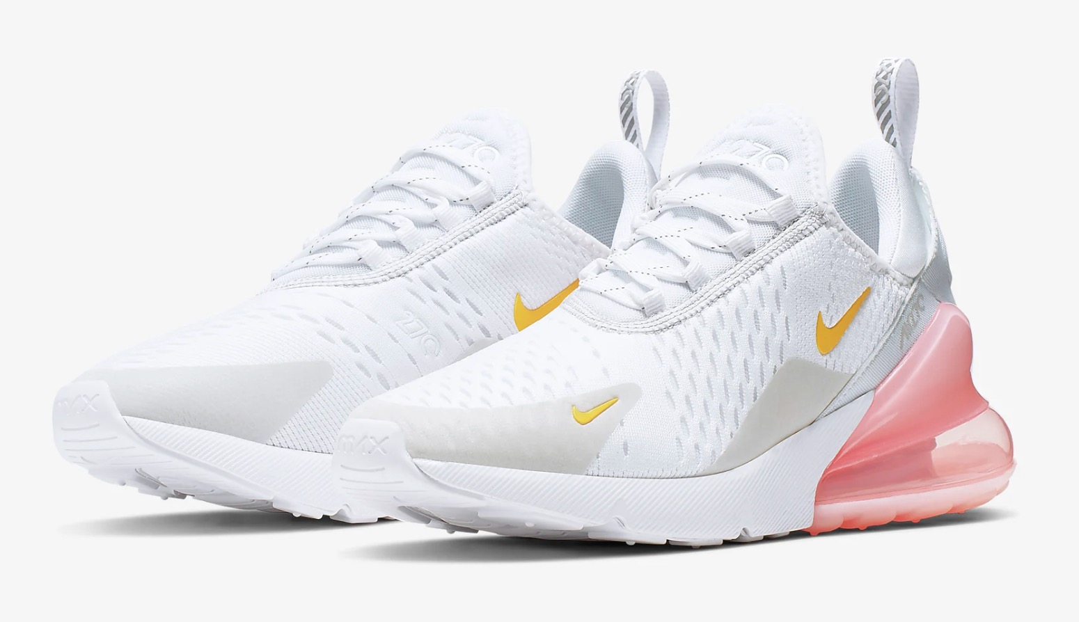 best cheap cbd07 58820 Nike Air Max 270 White Pink | CI9088-100