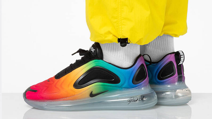Nike nike air max flyposite purple shoes free Be True Pride ...