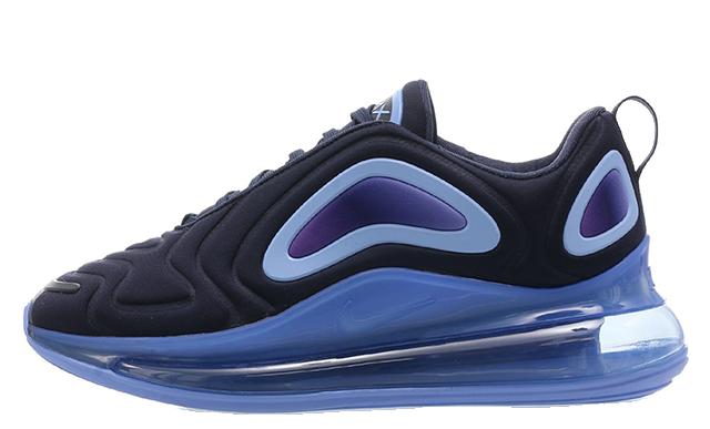 Nike Air Max 720 GS Obsidian AQ3196-401