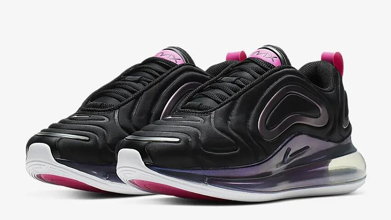 on sale 80044 78758 Nike Air Max 720 SE Laser Fuchsia CD2047-001 front