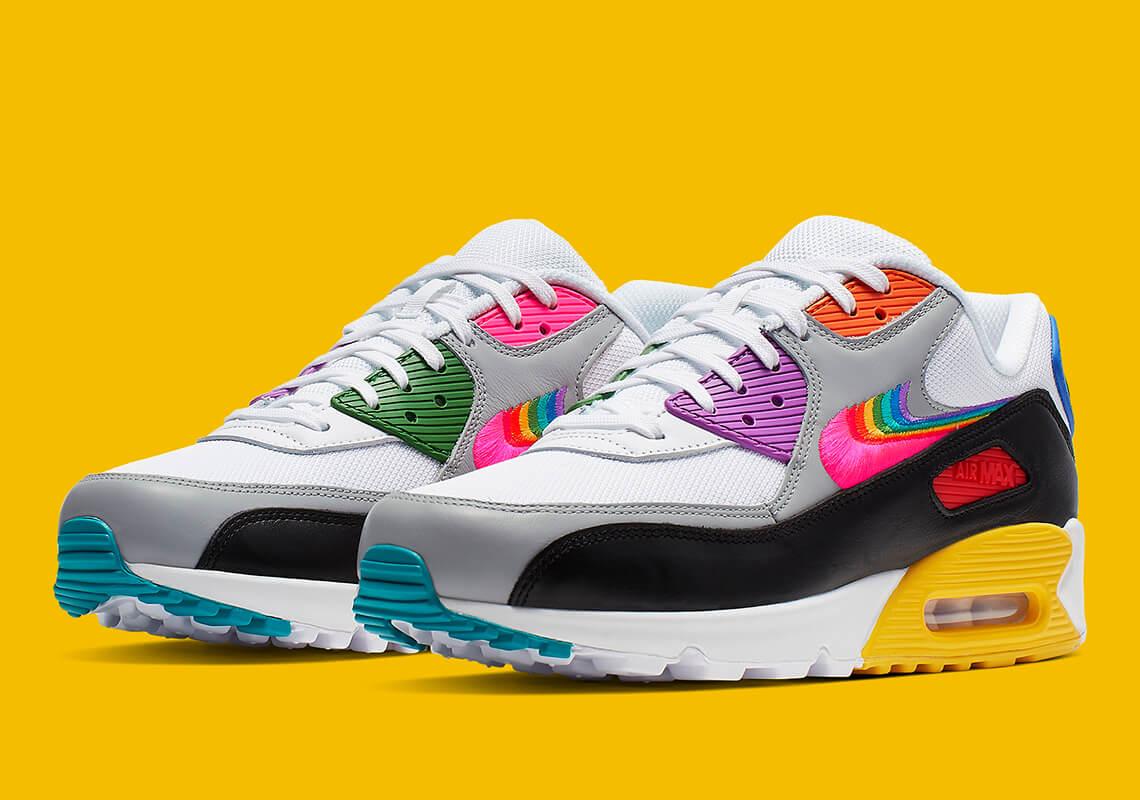 Nike Air Max 90 Be True   CJ5482 100   The Sole Womens
