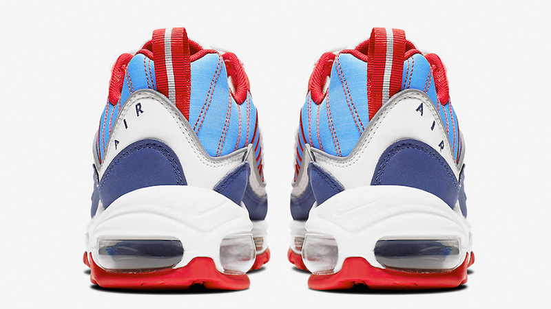 7905ea6f38 Nike Air Max 98 Blue Red | AH6799-112 | The Sole Womens