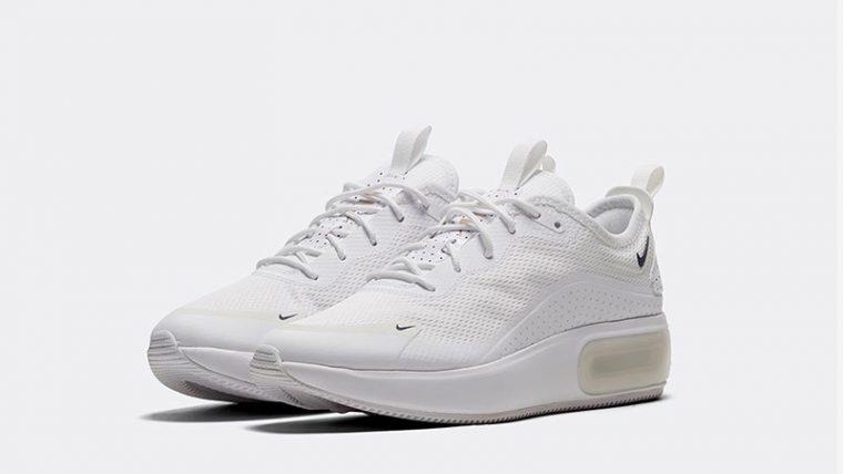 Nike Air Max Dia SE White front thumbnail image