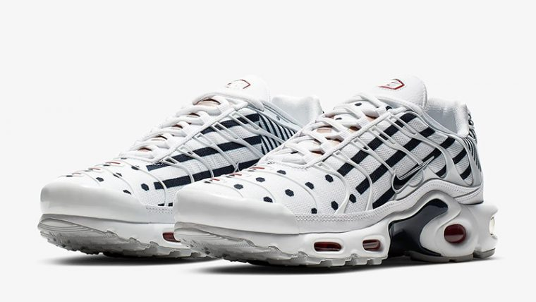 Nike Air Max Plus TN Unite Totale White Navy CI9103-100 front