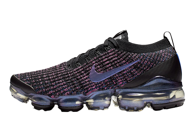 check out a7bb6 5bd0f Nike Air VaporMax Flyknit 3 Black Laser Fuchsia | AJ6910-003