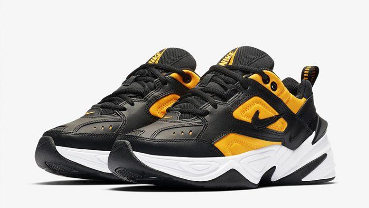 Nike M2K Tekno Black Orange AO3108-014 front thumbnail image